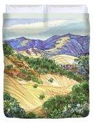 Briones From Mount Diablo Foothills Duvet Cover by Judith Kunzle