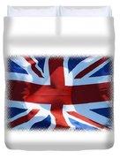 British Union Jack Flag T-shirt Duvet Cover