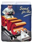 British Vacuum Cleaner Vintage Advert 1910 Duvet Cover