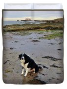 Brodie And Bass Rock Duvet Cover