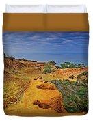 Broken Hill Panoramic II Duvet Cover