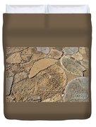 Broken Millstones Duvet Cover