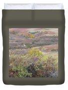 Buffaloberry Prairie Duvet Cover