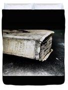 A Book Of Survival Duvet Cover