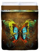 Butterfly Abstract Duvet Cover