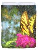 Butterfly Likeness  Duvet Cover