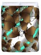Butterfly Patterns 2 Duvet Cover