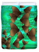 Butterfly Patterns 3 Duvet Cover