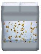Butterfly Splash Duvet Cover