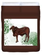 C Is For Cow Duvet Cover