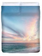Cabo San Lucas Beach Sunset Mexico Duvet Cover