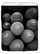 Cactus Black And White 5 Duvet Cover