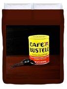 Cafe Bustelo Duvet Cover