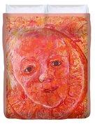 California Clementine Duvet Cover