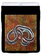 California Garter Snake Duvet Cover