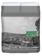 California Highway 101 Duvet Cover