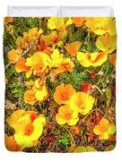 California Poppies - 2019 #3 Duvet Cover