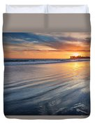 California Sunset V Duvet Cover