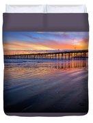 California Sunset Vii Duvet Cover