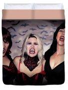 Call Of The Vampires Women Duvet Cover