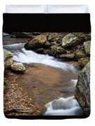 Calming Water Sounds - North Carolina Duvet Cover