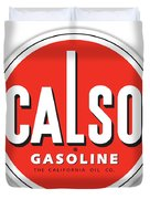 Calso Sign Duvet Cover