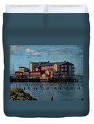 Cannery Pier Hotel Duvet Cover