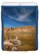 Canyon Lake Duvet Cover