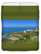 Cap Antifer Oil Terminal  Duvet Cover