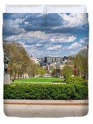 Capitol - Madison - Wisconsin From Bascom Hall Duvet Cover