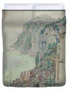 Capri, 1897  Duvet Cover