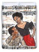 Carmen Jones - That's Love Duvet Cover