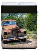Cars From The Past Duvet Cover
