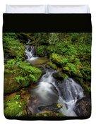 Cascades Of Lee Falls Duvet Cover