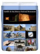 Castillo De San Marcos National Monument Duvet Cover