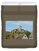 Castle At Cochem In Germany Duvet Cover