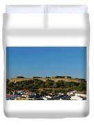Castle Of Castro Marim From The Hill Duvet Cover