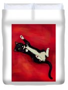 Cat N Duvet Cover