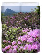 Catawba Rhododendron Table Rock  Duvet Cover