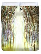 Cathedral Forest Duvet Cover by Darren Cannell