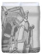 Cathedral Helena Montana Duvet Cover
