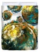 Celestials - Interstellar I Duvet Cover by Joel Tesch