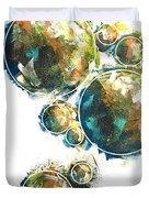 Celestials - Interstellar II Duvet Cover by Joel Tesch