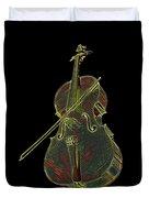 Cello Music Instrument Professional Musician Designed Duvet Cover