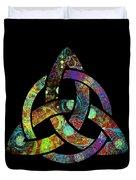Celtic Triquetra Or Trinity Knot Symbol 3 Duvet Cover