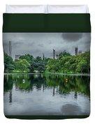Central Park Reflections Duvet Cover