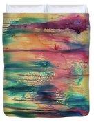 Central Park Sunset Duvet Cover