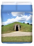 Indian Mound At Ocmulgee National Monument 1 Duvet Cover