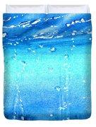Champagne Sea 2 Duvet Cover