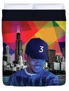 Chance Chicago Duvet Cover